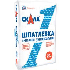 Шпатлевка гипсовая скала, 20 кг купить в Новосибирске