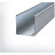 Профиль потолочный П 50-50-3000  0.55 мм  (3м)  Усиленный