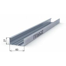 Профиль ПП 60-27 - 3000 полимер\ усиленный 0.55 мм