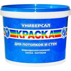 УНИВЕРСАЛ Краска для потолков и стен, 14 кг