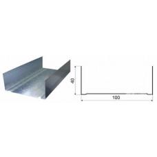 Профиль потолочный П  100-40-3000  усиленный