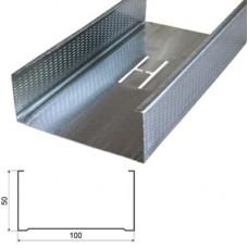Профиль потолочный ПП 100-50-3000 усиленный