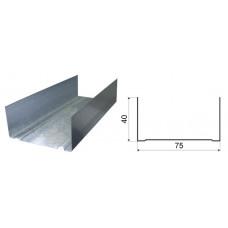 Профиль потолочный П 75-40-3000  0.55 мм (3м)